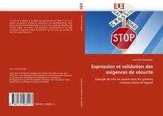 Portada del libro de Expression et validation des exigences de sécurité