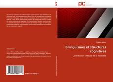 Bilinguismes et structures cognitives kitap kapağı