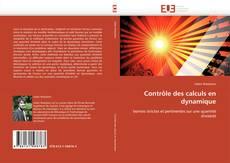 Couverture de Contrôle des calculs en dynamique