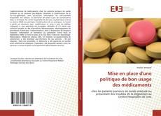 Обложка Mise en place d'une politique de bon usage des médicaments