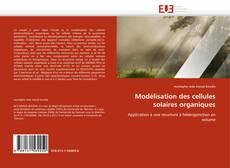 Обложка Modélisation des cellules solaires organiques