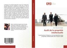 Обложка Audit de la propriété intellectuelle