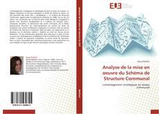 Capa do livro de Analyse de la mise en oeuvre du Schéma de Structure Communal
