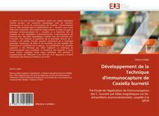 Bookcover of Développement de la Technique d'immunocapture de Coxiella burnetii