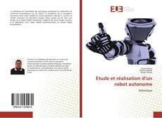 Portada del libro de Etude et réalisation d'un robot autonome