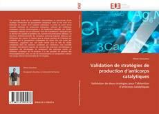 Couverture de Validation de stratégies de production d'anticorps catalytiques