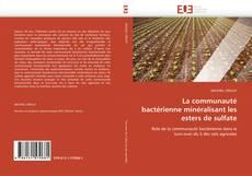 Bookcover of La communauté bactérienne minéralisant les esters de sulfate