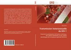 Buchcover von Transmission heterosexuelle de HIV-1