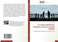 Bookcover of La responsabilité des dirigeants sociaux en droit OHADA