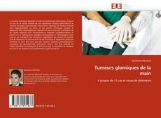 Copertina di Tumeurs glomiques de la main