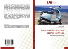 Обложка Etude et réalisation d'un scooter électrique