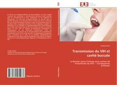 Capa do livro de Transmission du VIH et cavité buccale