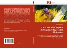 Caractérisation physico chimiques de la propolis Algérienne的封面