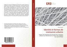 Capa do livro de Identité et formes de croissance urbaine