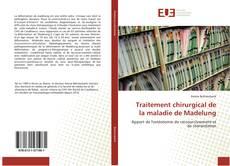 Buchcover von Traitement chirurgical de la maladie de Madelung