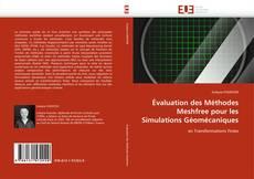 Copertina di Évaluation des Méthodes Meshfree pour les Simulations Géomécaniques