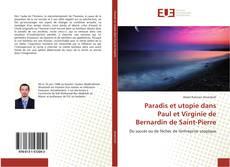 Обложка Paradis et utopie dans Paul et Virginie de Bernardin de Saint-Pierre