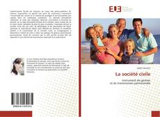 Couverture de La société civile