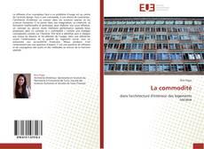 Bookcover of La commodité