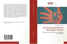 Couverture de Les droits de l'enfant en droit public français