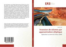 Capa do livro de Inversion de séismes par approximation elliptique