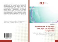 Capa do livro de Stabilization of systems and Ingham-Beurling inequalities