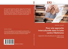 Couverture de Pour une approche interculturelle dans la lutte contre l'illettrisme