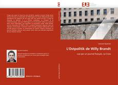 Bookcover of L'Ostpolitik de Willy Brandt