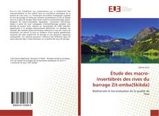 Обложка Étude des macro-invertébrés des rives du barrage Zit-emba(Skikda)
