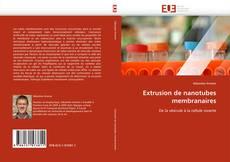 Обложка Extrusion de nanotubes membranaires