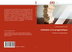 Buchcover von Initiation à la pragmatique