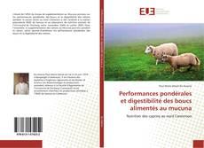 Performances pondérales et digestibilité des boucs alimentés au mucuna kitap kapağı
