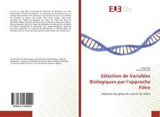 Couverture de Sélection de Variables Biologiques par l'approche Filtre