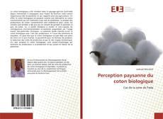 Portada del libro de Perception paysanne du coton biologique