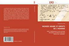 Buchcover von MONDE ARABE ET DROITS DE L'HOMME