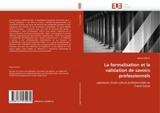 Buchcover von La formalisation et la validation de savoirs professionnels