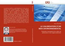 Bookcover of LA VALORISATION D'UN BIEN ENVIRONNEMENTAL