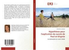 Bookcover of Hypothèses pour l'explication du succès de Paul et Virginie