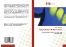 Bookcover of Des pensées et de couleur