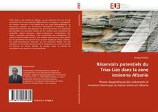 Bookcover of Réservoirs potentiels du Trias-Lias dans la zone ionienne Albanie