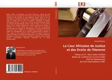Buchcover von La Cour Africaine de Justice et des Droits de l'Homme