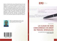 Copertina di LA CLAUSE DE NON CONCURRENCE EN DROIT DU TRAVAIL SENEGALAIS