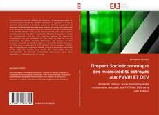 Bookcover of l'Impact Socioéconomique des microcrédits octroyés aux PVVIH ET OEV