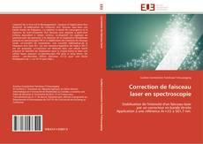 Portada del libro de Correction de faisceau laser en spectroscopie
