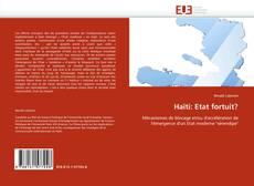 Обложка Haïti: Etat fortuit?