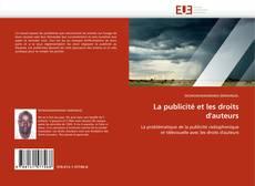 Couverture de La publicité et les droits d'auteurs