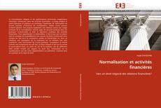 Bookcover of Normalisation et activités financières