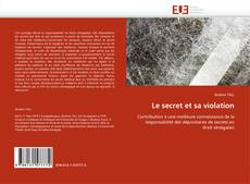 Bookcover of Le secret et sa violation