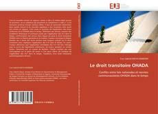 Le droit transitoire OHADA kitap kapağı