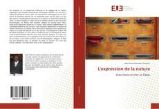 Bookcover of L'expression de la nature